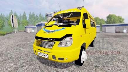 GAS-2705 Gacela para Farming Simulator 2015