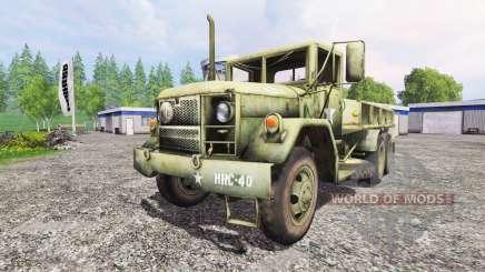 AM General M35A2 para Farming Simulator 2015