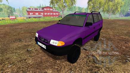 Opel Astra F Caravan [tuning] para Farming Simulator 2015