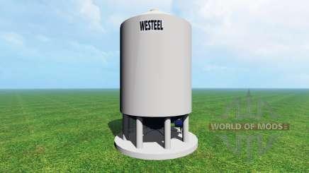 Silo Westeel para Farming Simulator 2015