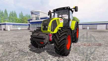 CLAAS Axion 850 [weight] para Farming Simulator 2015