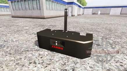 Claas Xerion para Farming Simulator 2015