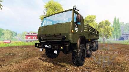 KamAZ-6350 [pack] para Farming Simulator 2015