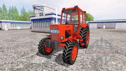 MTZ-82 [rojo] v2.0 para Farming Simulator 2015