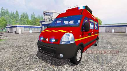 Renault Master [sapeurs-pompiers] para Farming Simulator 2015