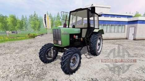 MTZ-82.1 Belarús [verde] para Farming Simulator 2015