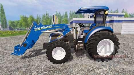 New Holland T4.75 [ensemble] para Farming Simulator 2015