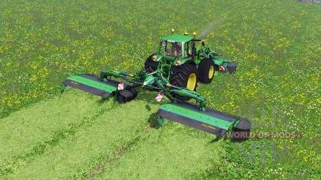 John Deere F310R и R870R para Farming Simulator 2015