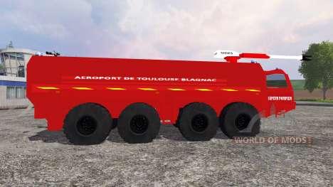 VMA Sapeur Pompiers v2.0 para Farming Simulator 2015