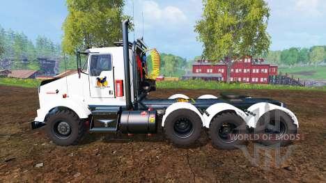 Kenworth T800 v0.96b para Farming Simulator 2015