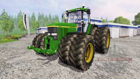 John Deere 7810 v2.1 para Farming Simulator 2015