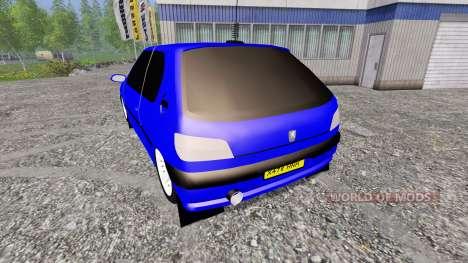 Peugeot 306 para Farming Simulator 2015