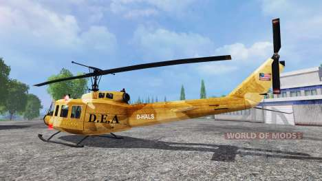 Bell UH-1 Iroquois para Farming Simulator 2015
