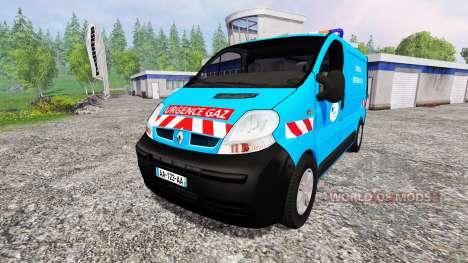 Renault Trafic [urgence gaz] v2.0 para Farming Simulator 2015