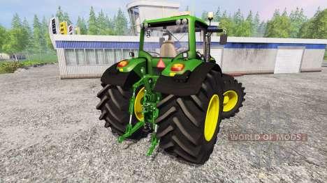 John Deere 6170M v1.0 para Farming Simulator 2015