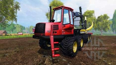 John Deere 1110D [red] para Farming Simulator 2015
