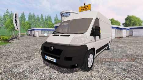 Peugeot Boxer para Farming Simulator 2015