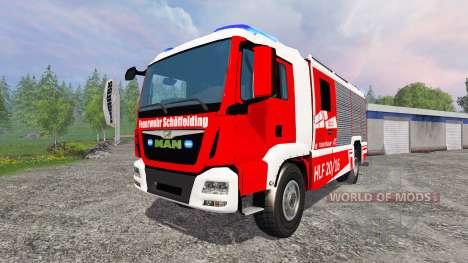 MAN TGM [firefighter] para Farming Simulator 2015