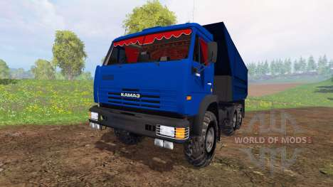 KamAZ-65115 v4.0 para Farming Simulator 2015