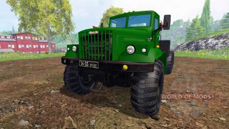 KrAZ-255 B1 v1.2 para Farming Simulator 2015