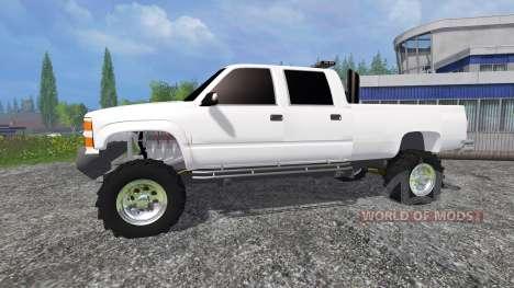 Chevrolet Silverado 2000 para Farming Simulator 2015