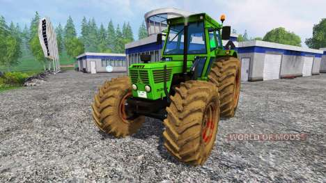 Deutz-Fahr D 13006A v1.1 para Farming Simulator 2015