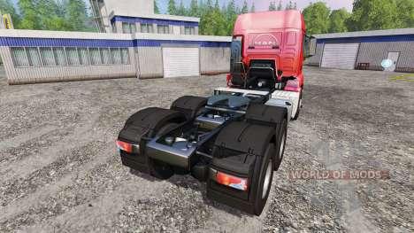 MAN TGS 18.440 6x4 para Farming Simulator 2015