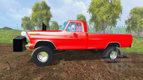 Ford F-100 [highboypuller] para Farming Simulator 2015