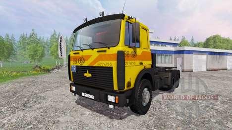MAZ-5516 [construir] v3.0 para Farming Simulator 2015