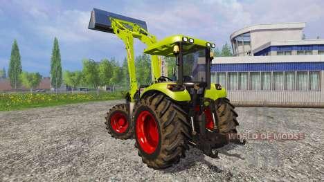 CLAAS Arion 650 FL [ensemble] para Farming Simulator 2015