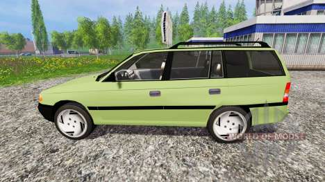 Opel Astra F Caravan [update] para Farming Simulator 2015
