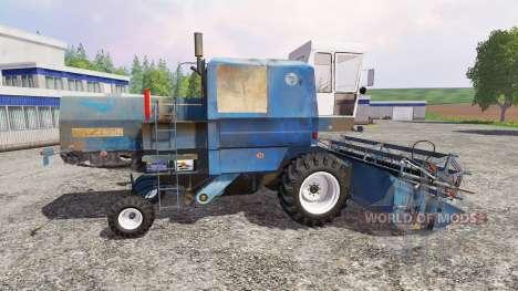 Bizon Z056 [azul] para Farming Simulator 2015