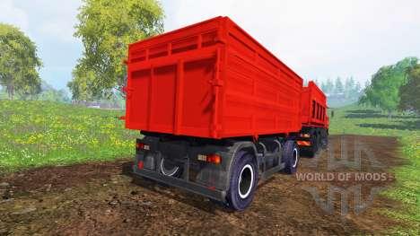 KamAZ-65115 para Farming Simulator 2015