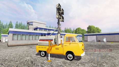 Volkswagen Transporter T2B 1972 [lighting mast] para Farming Simulator 2015