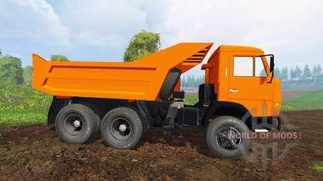 KamAZ 55111 v2.0 para Farming Simulator 2015