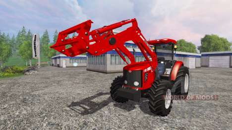 Massey Ferguson 5445 FL [ensemble] para Farming Simulator 2015
