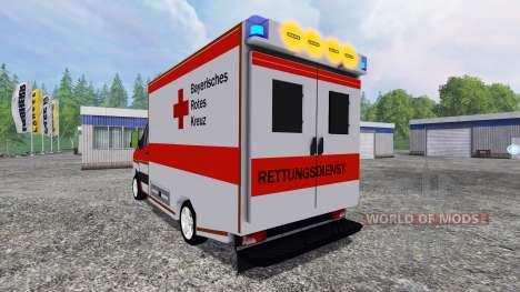 Volkswagen Crafter BRK para Farming Simulator 2015