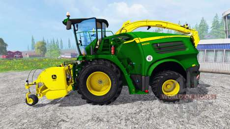 John Deere 8600i [pack] para Farming Simulator 2015