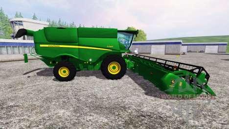 John Deere S 690i v1.5 para Farming Simulator 2015