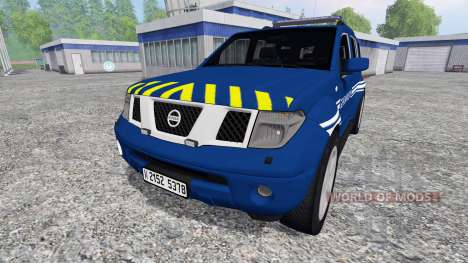 Nissan Pathfinder Gendarmerie para Farming Simulator 2015