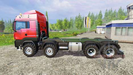 MAN TGS 41.480 8x8 v6.0 para Farming Simulator 2015