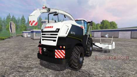 CLAAS Jaguar 870 [Black Edition] para Farming Simulator 2015