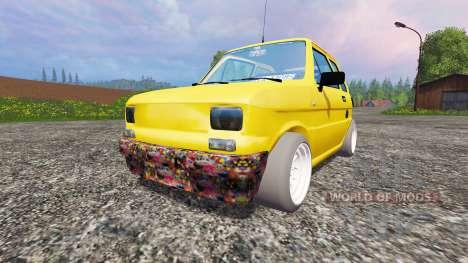 Fiat 126p para Farming Simulator 2015