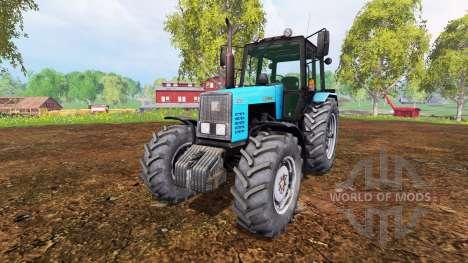 MTZ-1221 Belarús v1.0 para Farming Simulator 2015