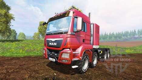 MAN TGS 41.570 8x8 Agrar v2.0 para Farming Simulator 2015