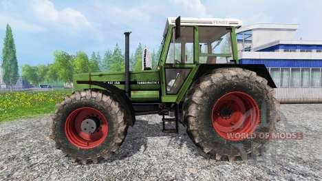 Fendt 611 LSA Turbomatic [forestry edition] para Farming Simulator 2015