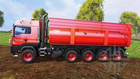 MAN TGS 10x8 v1.2 para Farming Simulator 2015