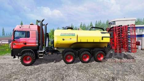 MAN TGS 18.440 [liquid manure] para Farming Simulator 2015