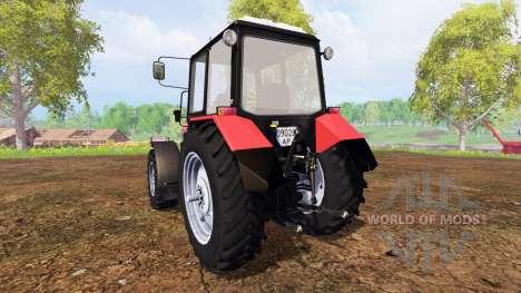 Bielorrusia-1221.2 v2.0 [rojo] para Farming Simulator 2015