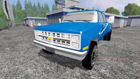Chevrolet Silverado 1984 [dually] para Farming Simulator 2015